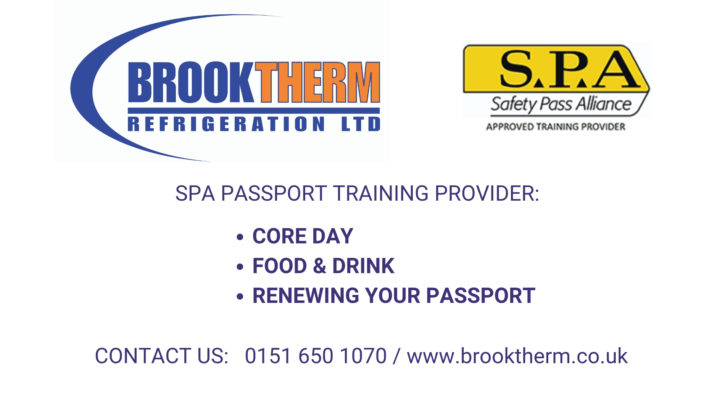 SPA Passport Training from Brooktherm Refrigeration Ltd